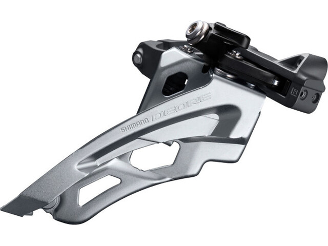 Shimano Deore MTB FD-M6000 Voorderailleur 3x10-speed Side Swing Clamp Middle, black
